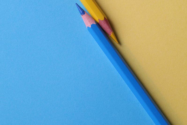 青鉛筆の写真