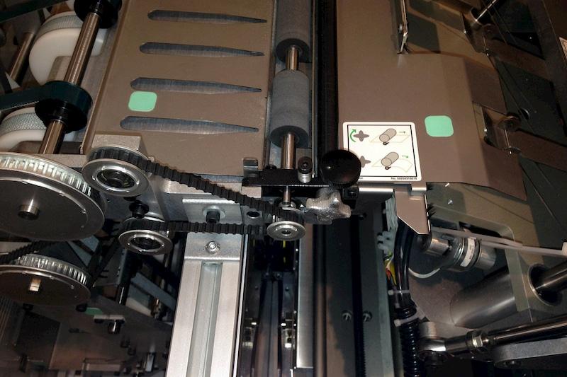 印刷機器のアップ