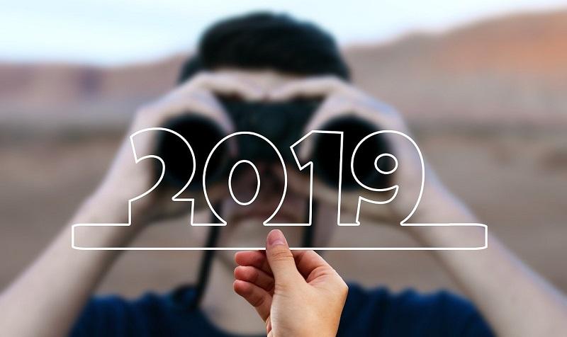 2019と双眼鏡